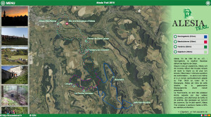 Capture du site Alesia Trail 2017
