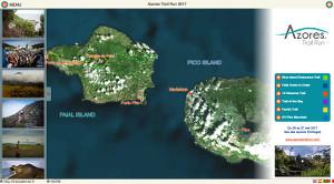 Capture du site Azores Trail Run 2017