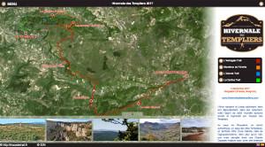 Capture du site Hivernale des Templiers 2017