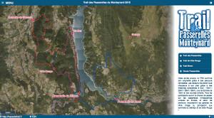 Capture du site Trail des Passerelles du Monteynard 2017