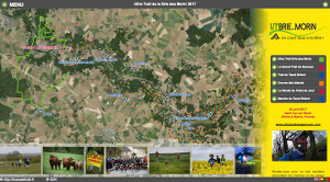 Capture du site Ultra Trail de la Brie des Morin 2019