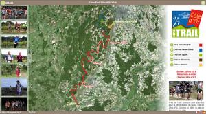 Capture du site Ultra Trail Côte d'Or 2017
